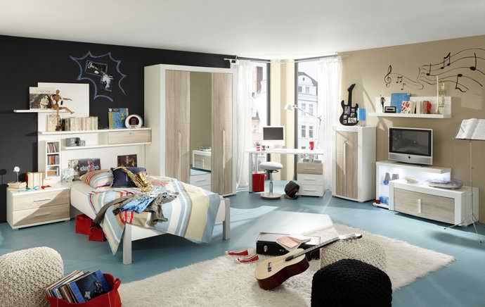 zimmer f r junge leute m bel maierhofer. Black Bedroom Furniture Sets. Home Design Ideas